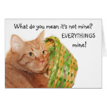 Easter kitty greeting cards