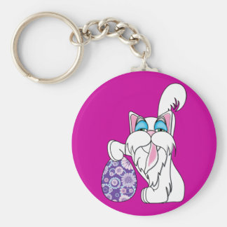 easter kitty keychains