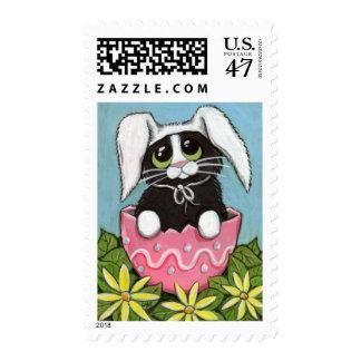Easter Kitty (medium) Postage