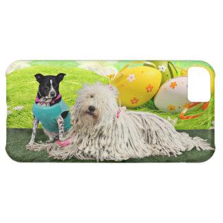 Easter - Komondor - Zoey - Basenji X - Jasper iPhone 5C Case