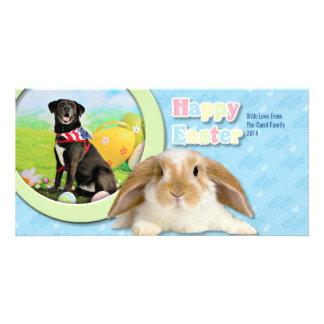 Easter - Labrador - Dakota Card