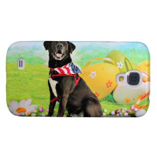 Easter - Labrador - Dakota Galaxy S4 Cover