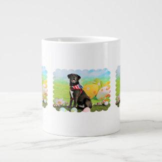 Easter - Labrador - Dakota 20 Oz Large Ceramic Coffee Mug