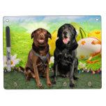 Easter - Labrador - Jack and Diane Dry-Erase Board