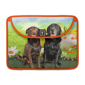 Easter - Labrador - Jack and Diane Sleeves For MacBooks
