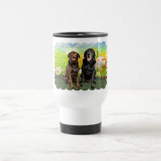 Easter - Labrador - Jack and Diane 15 Oz Stainless Steel Travel Mug