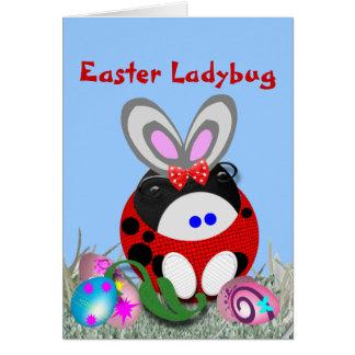 Easter Ladybug Card