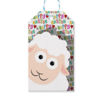 Easter lamb gift tags