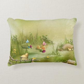 Easter Landscape Accent Pillow