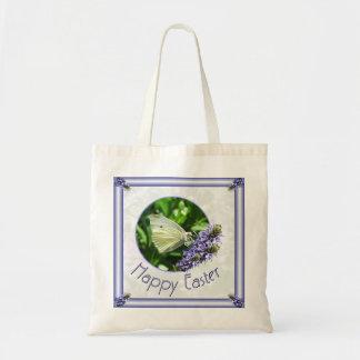Easter Lavender Butterfly Bag