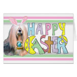 Easter Lhasa Apso Stationery Note Card