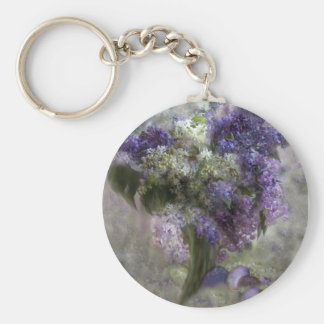 Easter Lilacs Keychain