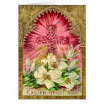 Easter Lilies and Cross Card