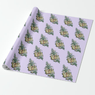 Easter Lilies and Holy Bible Wrapping Paper