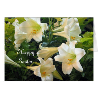 Easter Lilies Easter Card