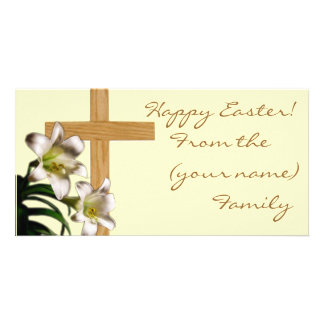 Easter Lilies - Happy Easter Card