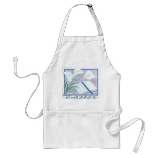 Easter Lilly Adult Apron