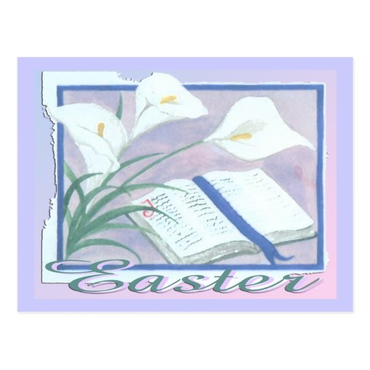 Easter Lilly Postcard