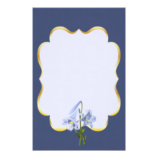 Easter Lily Bouquet Stationery