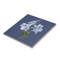 Easter Lily Bouquet Tile
