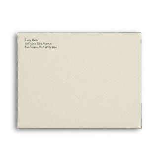 Easter Lily Cross Envelopes