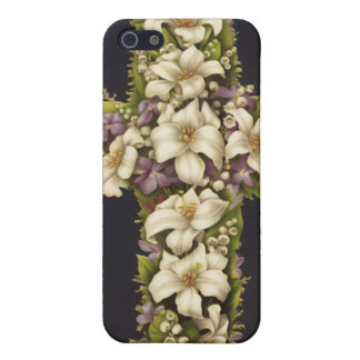Easter Lily Cross iPhone 5 Covers