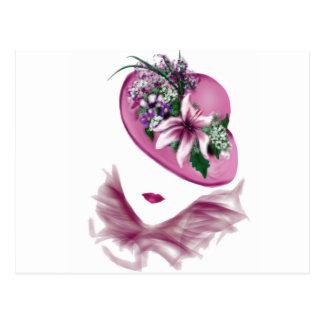 Easter lily gifts on zazzle easter lily hat ladyg postcard negle Choice Image