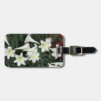 Easter Lily (Lilium regale) Bag Tag