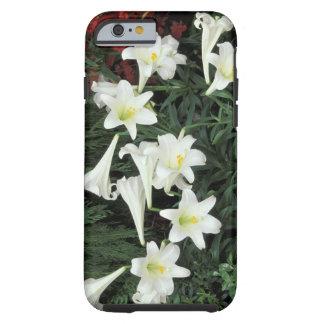 Easter Lily (Lilium regale) Tough iPhone 6 Case