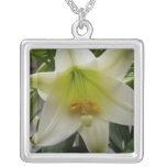 Easter Lily Necklaces