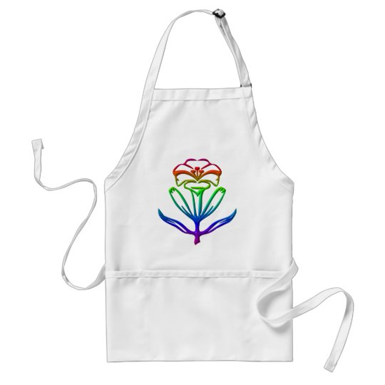 Easter Lily of Purity Adult Apron