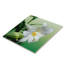 Easter Lily Tile