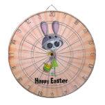 Easter Little Miss Death Dartboard