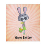 Easter Little Miss Death Memo Note Pad