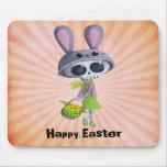 Easter Little Miss Death Mousepad