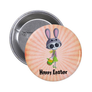 Easter Little Miss Death Pin