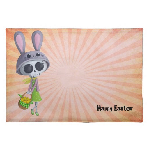 Easter Little Miss Death Placemat