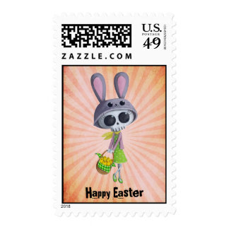 Easter Little Miss Death Postage