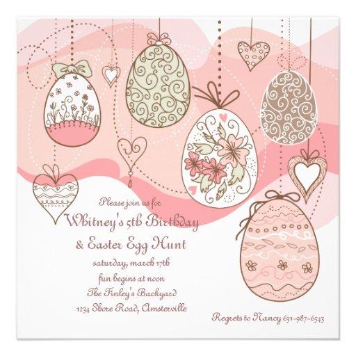 Easter Love Invitation
