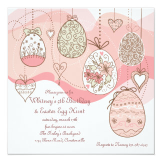 Easter Love Invitation