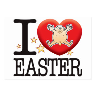 Easter Love Man Large Business Cards (Pack Of 100)