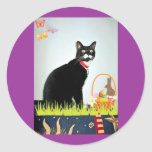 Easter Lucy Classic Round Sticker