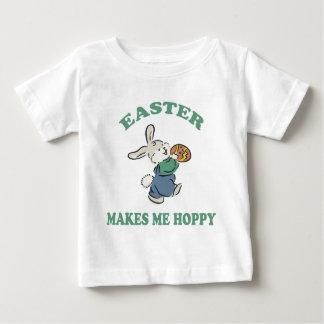 Easter Makes Me Hoppy Baby Baby T-Shirt