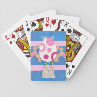 Easter Man Playing Cards
