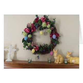 Easter Mantle Blessings Stationery Note Card