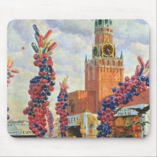 Easter Market at the Moscow Kremlin, 1917 Mouse Pad
