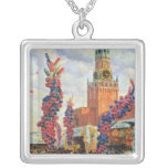 Easter Market at the Moscow Kremlin, 1917 Necklace