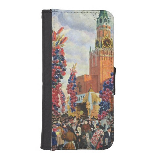 Easter Market at the Moscow Kremlin, 1917 iPhone 5 Wallets