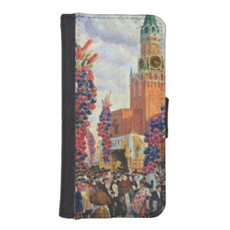 Easter Market at the Moscow Kremlin, 1917 Wallet Phone Case For iPhone SE/5/5s