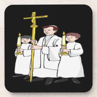 Easter Mass Beverage Coaster